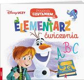 Disney Uczy Przygoda z czytaniem Elementarz Ćwiczenia