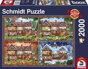 Puzzle PQ 2000 Dom na cztery pory roku G3