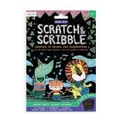 Zdrapywanki Mini Scratch & Scribble Impreza Safari