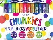 Farba w kredce Chunkies Paint Sticks 24 sztuki