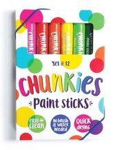 Farba w kredce Chunkies Paint Sticks 12 sztuk