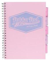Project Book Pastel A4/100K kratka róż (3szt)