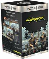 Puzzle Cyberpunk 2077 Metro 1000 elementów