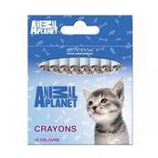 Kredki woskowe 12 kolorów Animal Planet Cute