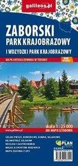 Mapa turyst. - Zaborski Park Krajobrazowy 1:25 000