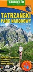 Mapa turyst. - Tatrzański Park Narodowy 1:27 500