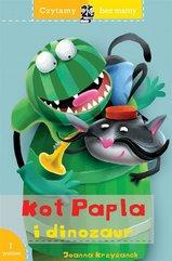 Czytamy bez mamy - Kot Papla i dinozaur