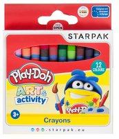 Kredki woskowe 12 kolorów Play-Doh