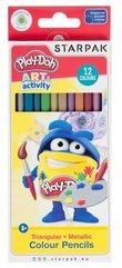 Kredki ołówkowe metalizowane 12 kolorów Play-Doh