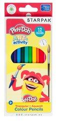 Kredki akwarelowe 12 kolorów Play-Doh