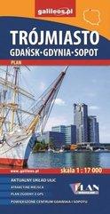 Plan -Trójmiasto. Gdańsk-Gdynia-Sopot 1:17 000 w.2
