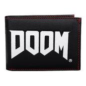 Portfel z logo Doom
