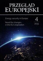 Przegląd Europejski 2019/4