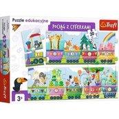 Puzzle Edukacyjne 20 Cyferki TREFL