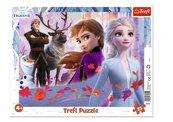 Puzzle ramkowe 25 Przygody w Krainie Lodu TREFL