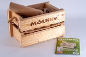 Mölkky w drewnianej skrzynce (Molkky)