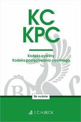 KC KPC Kodeks cywilny. Kodeks postępowania cywilnego