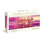 Puzzle 1000 Panorama Flamingo