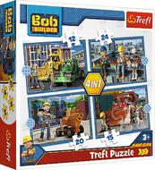 Puzzle 4w1 Pracowity dzień TREFL