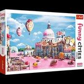 Puzzle 1000 Słodycze w Wenecji TREFL