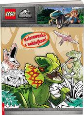 Lego Jurassic World Kolorowanka z naklejkami