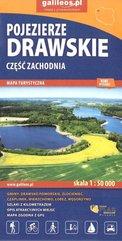 Mapa turyst. - Pojezierze Drawskie cz. zach w.2020