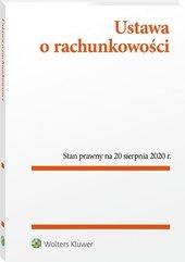 Ustawa o rachunkowości. Przepisy 20.08.2020