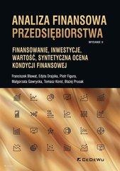 Analiza finansowa przedsiębiorstwa.. Finansowanie,