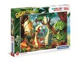 Puzzle 104 Super kolor Gigantosaurus