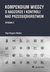 Kompendium wiedzy o nadzorze i kontroli nad przedsiębiorstwem (wyd. II)