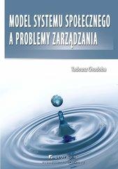 Model systemu społecznego a problemy zarządzania