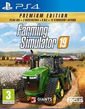 Farming Simulator 19 - Edycja Premium (PS4) PL + Komin