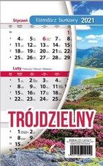 Kalendarz 2021 Biurkowy trójdzielny ARTSEZON