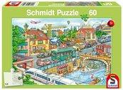 Puzzle 60 Miasto w ruchu G3