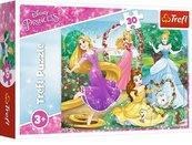 Puzzle 30 Być księżniczką Disney Princess TREFL