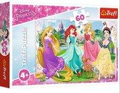 Puzzle 60 Ulubione księżniczki Disney Princess