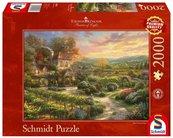 Puzzle PQ 2000 Thomas Kinkade Winnica G3