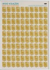 Plakat: 100 książek, które warto przeczytać