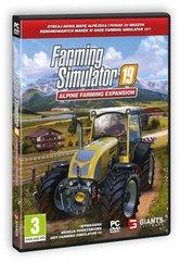 Farming Simulator 19 Rolnictwo Alpejskie - dodatek (PC) PL + Komin