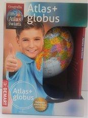 Pakiet: Szkolny atlas geograficzny + globus w.2020