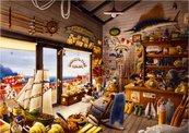 Puzzle 1000 Wnętrze sklepu rybackiego