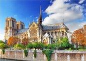 Puzzle 1000 Paryż, Katedra Notre Dame