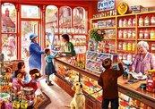 Puzzle 1000 Wnętrze sklepu ze słodyczami