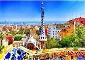 Puzzle 1000 Barcelona,Park Gaudiego