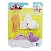 Play-Doh - Mini zwierzątko Króliczek z akcesoriami i tubą