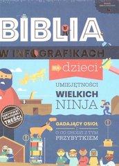 Biblia w infografikach dla dzieci + gra planszowa