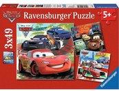 Puzzle 3x49 Auta 2