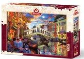 Puzzle 1500 Wenecja, Most Rialto