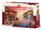 Puzzle 1500 Port śródziemnomorski
