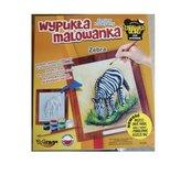 Wypukła Malowanka Zoo - Zebra